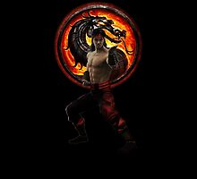 Mortal Kombat Lui Kang iPad Case by Bergmandesign