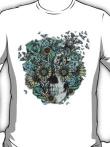 Constant, sunflower skull T-Shirt
