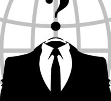 Anonymous المجهولون Sticker