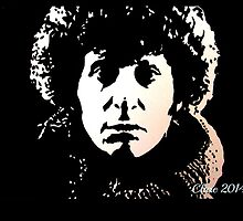 The Fourth Doctor Who (Tom Baker) by Clare Shailes