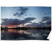 Sunset Afterburner Poster