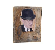 Portrait of jules Pascin Photographic Print