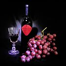 Red, Red Wine by Sue  Fellows