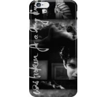 Isaac Lahey - I was broken for a long time iPhone Case/Skin