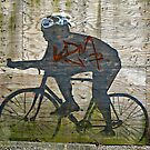The Cyclist © by Ethna Gillespie