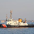 US Coast Guard on the Hudson NYC by Poete100