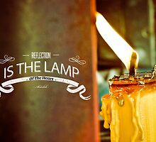 Reflection Is The Lamp Of The Heart  by Ozair Rao