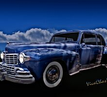 48 Lincoln Continental By Moonlight by ChasSinklier