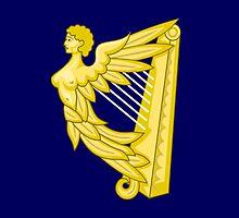 Royal Standard of Ireland (1542-1801) by abbeyz71