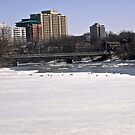 Rideau River, Ottawa, ON Canada - April 6/14 by Shulie1