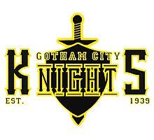 The Gotham City Knights Photographic Print