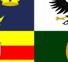 Four Provinces Flag of Ireland Sticker