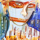 Trust in blue by Adam Bogusz