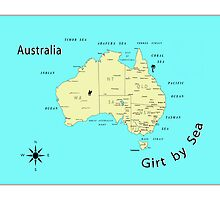 Australia Girt by Sea by Dean Gale