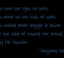 Work and Reward by Shiva G