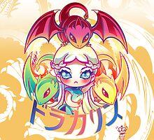 Dracarys - Chibi Daenerys Targaryen by MakoFufu