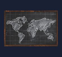 world map by naes71