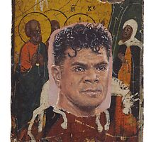 Portrait of Junior Seau by robertpriseman