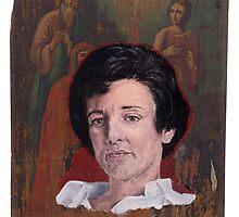Portrait of Anne Sexton by robertpriseman