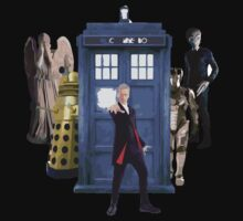 Doctor who`s  Enemies by Rainpotion