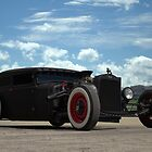 1931 Ford Flat Top Sedan Rat Rod by TeeMack