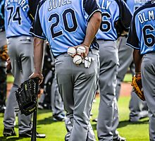 Players of the Tampa Bay Rays Florida by chris-csfotobiz