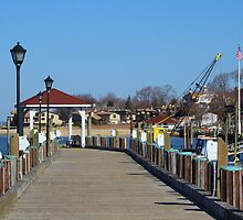 Northport Pier by Gilda Axelrod