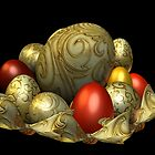 Magical Easter Eggs by LoneAngel