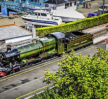 Steaming in Green by Chris L Smith