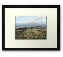 Rift Valley - Kenya Framed Print