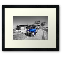 Blue D'z  Framed Print