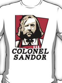 Colonel Sandor Game of Thrones Inspired T-shirt Design T-Shirt