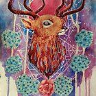 Space Deer by espressocat