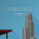 Minimalist Forbes Field - Pittsburgh, PA by pootpoot