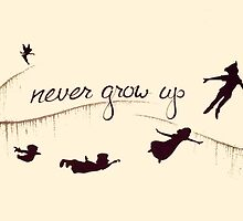 Peter Pan - Never Grow Up by EAMS