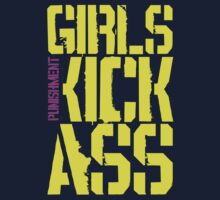 Girls Kick Ass … Yellow by OliveB