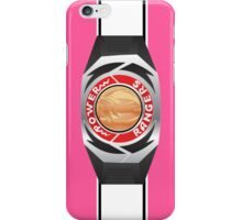 MMPR Pink Ranger Morpher/Buckle Phone Case iPhone Case/Skin
