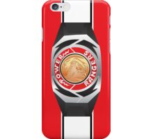 MMPR Red Ranger Morpher/Buckle Phone Case iPhone Case/Skin