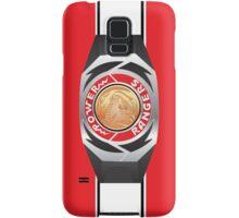 MMPR Red Ranger Morpher/Buckle Phone Case Samsung Galaxy Case/Skin
