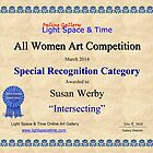 Special Recognition-Intersecting by Susan Werby
