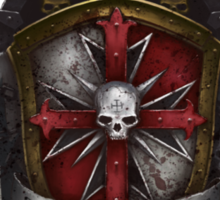 Heraldry of the eternal crusaders Sticker