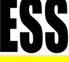 """BLESSED"" Sticker"