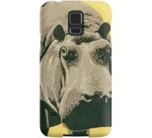 Visit the Zoo, Hippo Samsung Galaxy Case/Skin