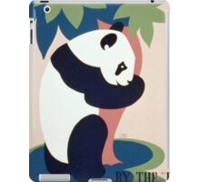 Panda and Bamboo, Brookfield Zoo iPad Case/Skin