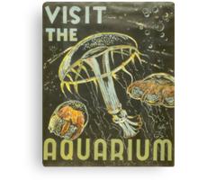 Visit the Aquarium, Jelly Fish Canvas Print