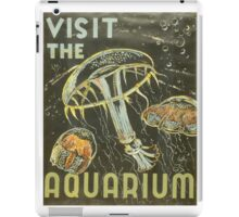Visit the Aquarium, Jelly Fish iPad Case/Skin