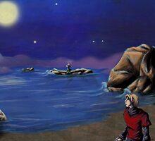 Waves of Blue Digi by littlemarin
