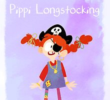 Pippi Longstocking by sailorswayze