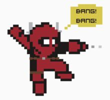 8-bit Mega-Deadpool by pokemon-photo