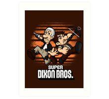 Super Dixon Bros. Art Print